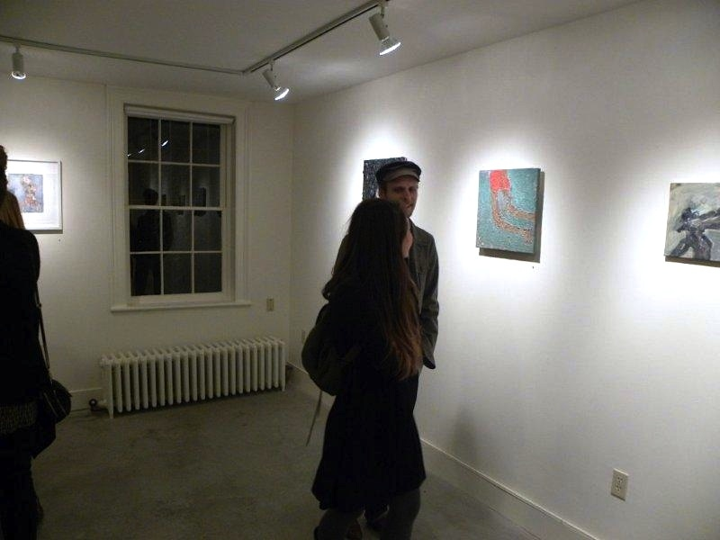 FB @ John Davis Gallery 2015 and 2012 Couple viewing