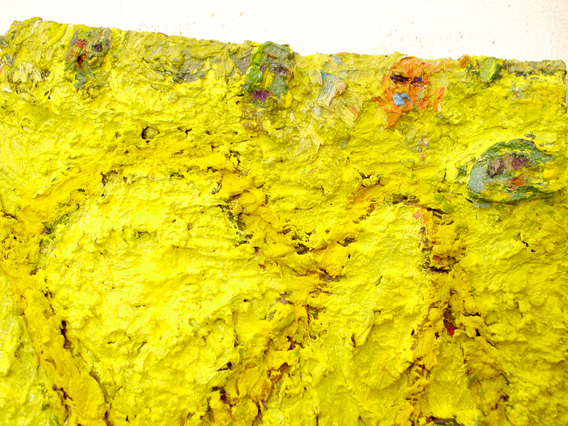 Painting Yellow Coaster- Detail