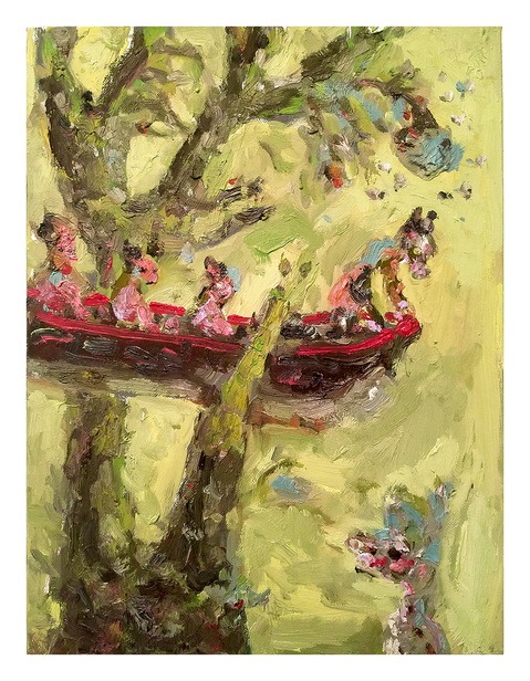 Painting Aground- Ship of Fools Series