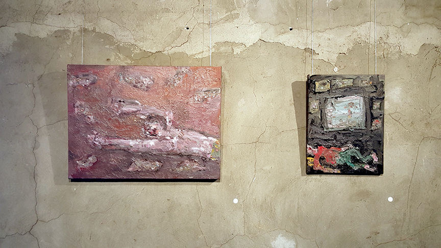 FB @ John Davis Gallery 2015 and 2012 Ashore V and Studio Sleeper