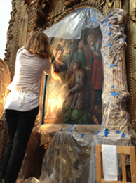 Fayanne Hayes - Cultural Initiatives Consultant & Certified Professional Coach Paintings Conservation,  Antigua, Guatemala