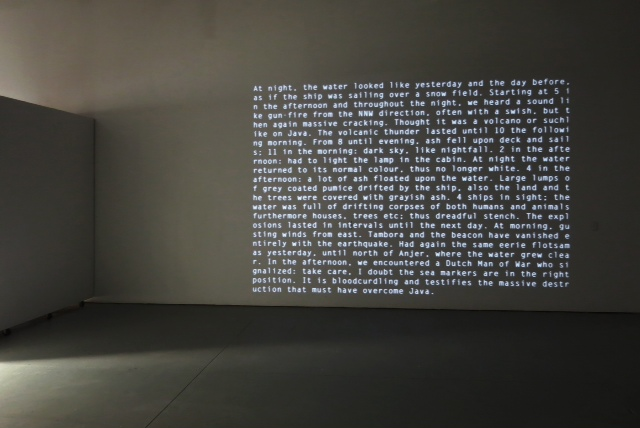 FIENDISH PLOTS Gudrun Barenbrock: PUNCHCARD MUSIC, 11/1/13-12/1/13 video installation