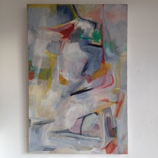 FIEROZA DOORSEN 2014 Oil on canvas