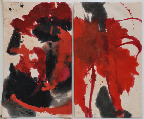 Paintings Firebird (diptych)