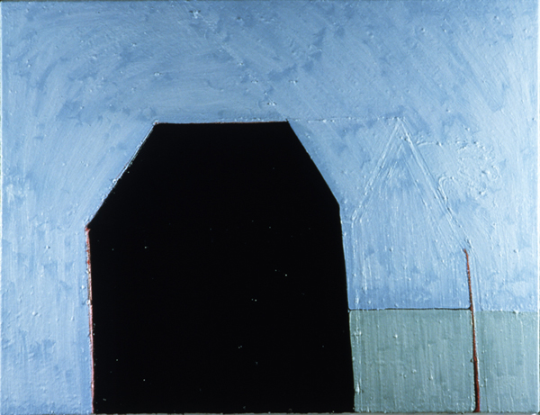 PAINTINGS 1980-1988 Black House II