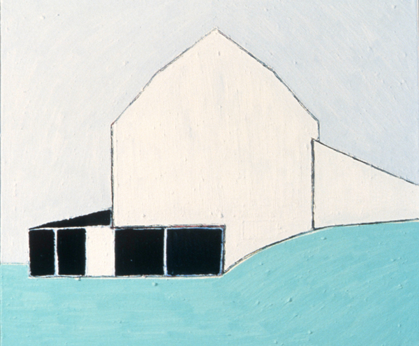 PAINTINGS 1980-1988 Downsville Barn