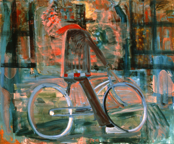 PAINTINGS 1989-1998 Bicycle Man