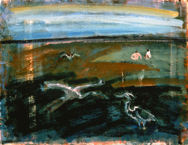 PAINTINGS 1989-1998 Three Herons