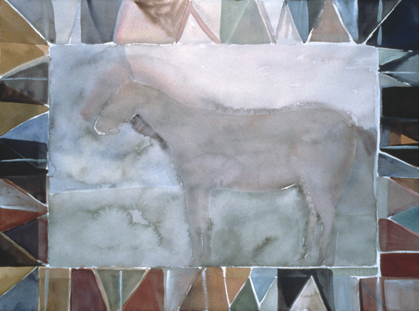 WORKS ON PAPER 1980-1990 Horse
