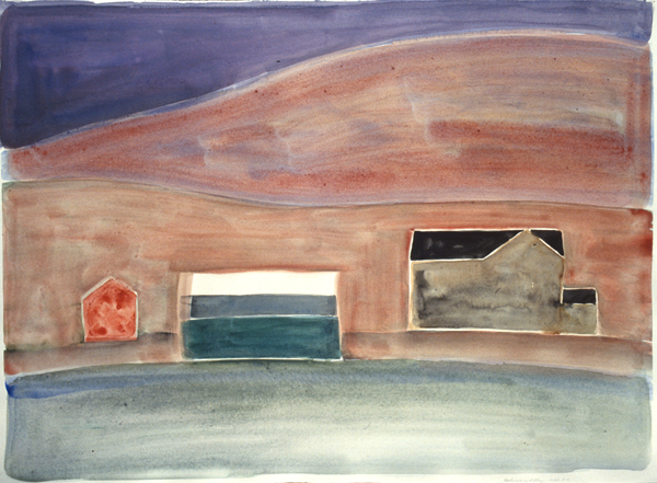 WORKS ON PAPER 1980-1990 Delaware Valley