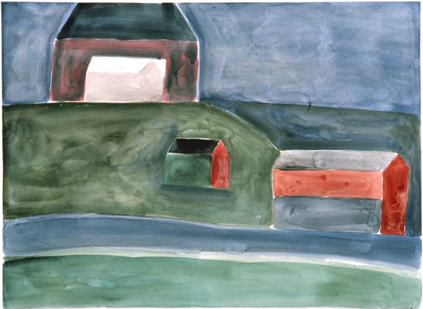 WORKS ON PAPER 1980-1990 North Branch Farm