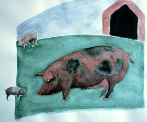 ANIMALS 1981-1988 Three Pigs