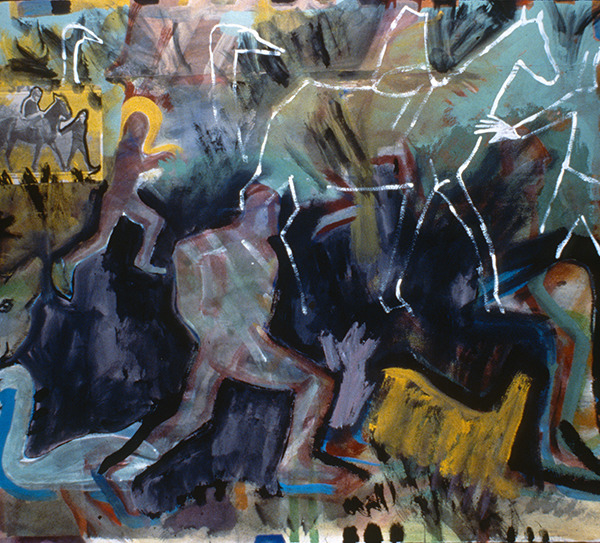IRISH PAINTINGS 1992-1997 Holding Back the Horse