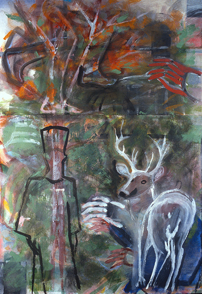 IRISH PAINTINGS 1992-1997 Prophet and the Stag