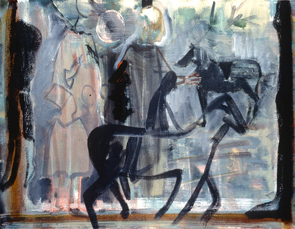 IRISH PAINTINGS 1992-1997 Passing