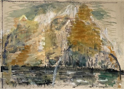 IRISH PAINTINGS 1992-1997 Ochre Skellig