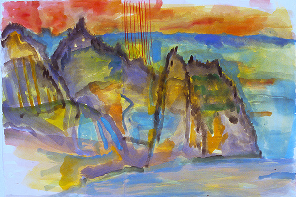IRISH PAINTINGS 1992-1997 Skellig