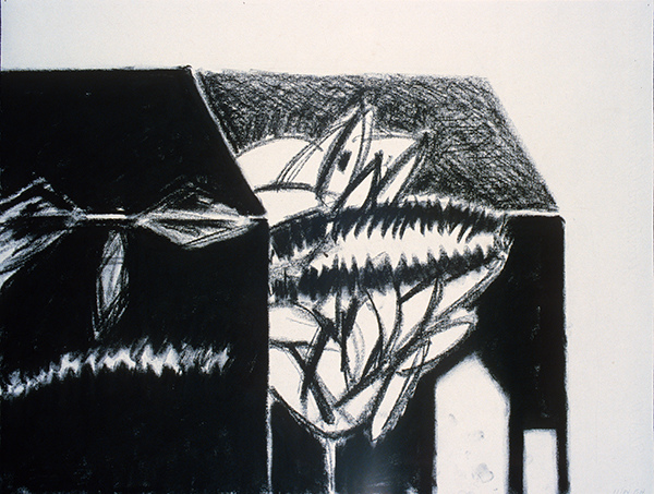 SIXTY-SIX DRAWINGS 1980's The Halloween House