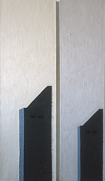 LONG ISLAND CITY and QUEENS 1978-1987 oil on linen