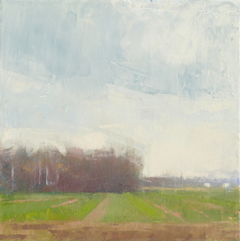 Frank Hobbs Paintings: Rural Oil on canvas
