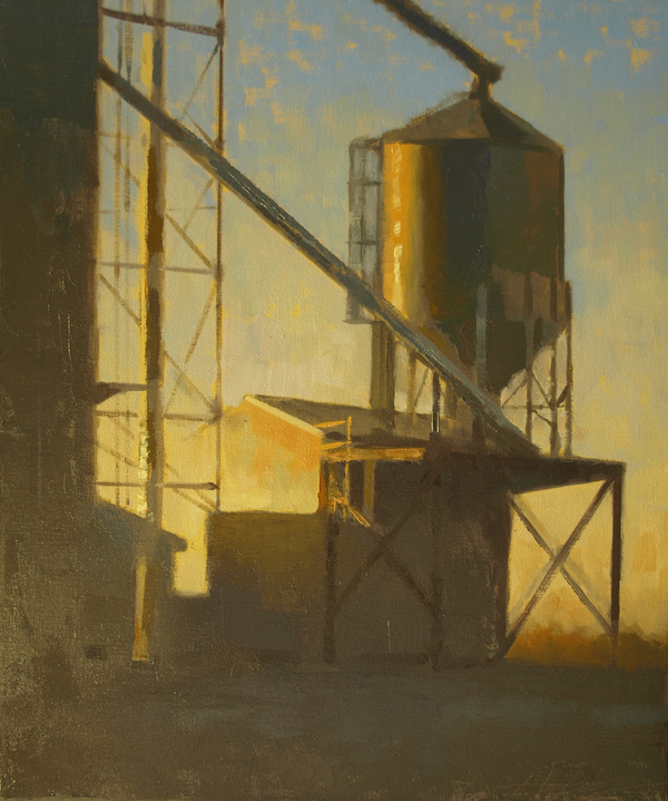 Grain Elevator, Sunset