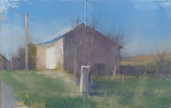 Frank Hobbs Paintings: Recent oil on canvas