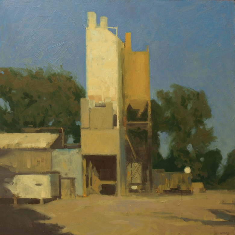 Frank Hobbs Paintings: Ohio oil on panel