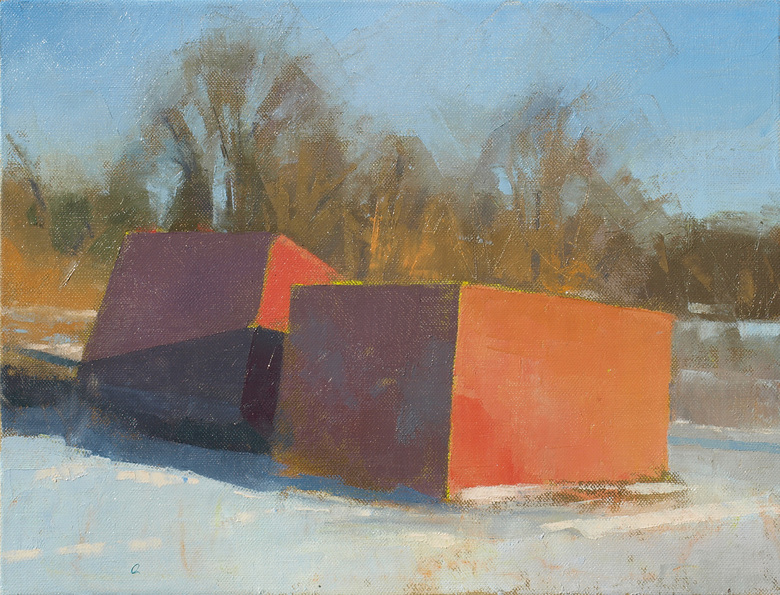 Frank Hobbs Paintings: Ohio oil on linen