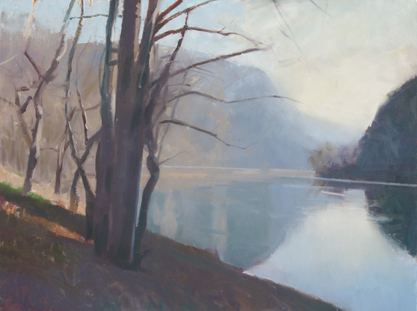 Delaware Water Gap, Winter Morning