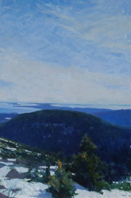 Frank Hobbs Paintings: Maine Oil on canvas
