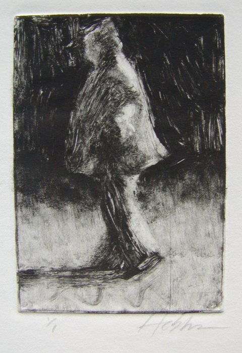 MONOTYPES Walking Woman