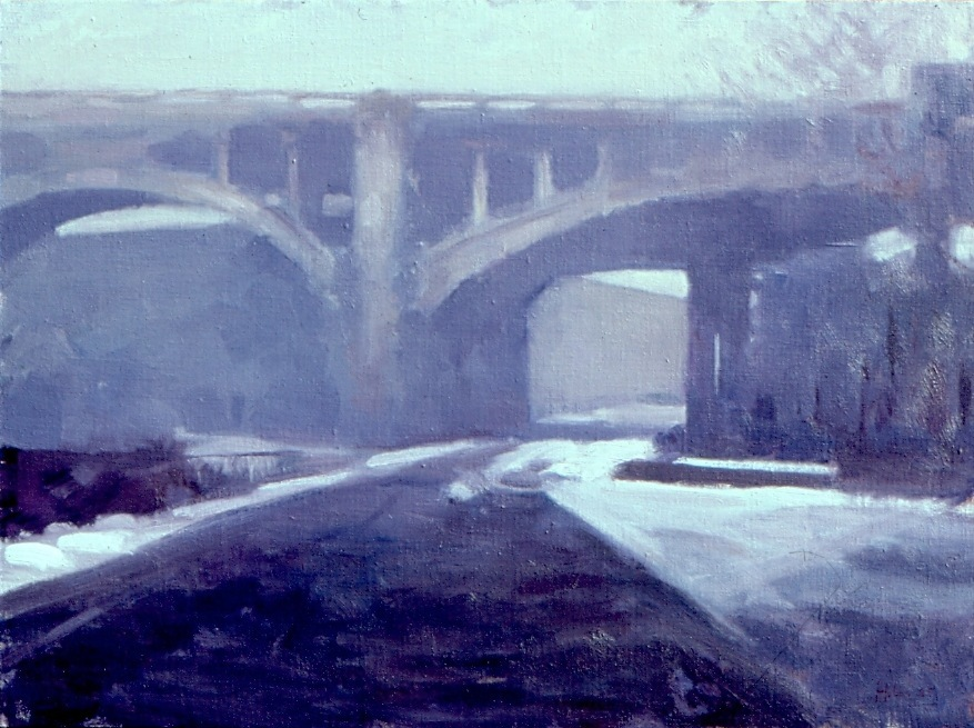 1980s Williams Viaduct, Winter