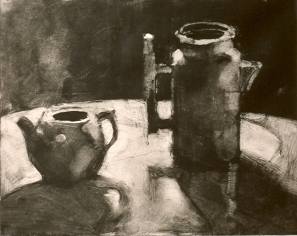MONOTYPES Coffee Pot & Pitcher