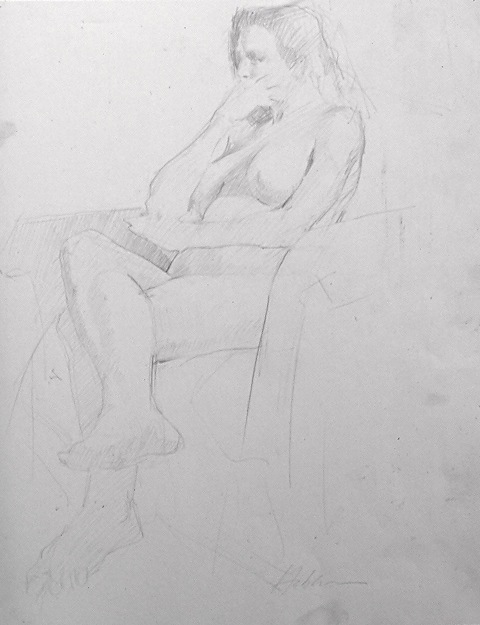 FIGURE  Seated Figure