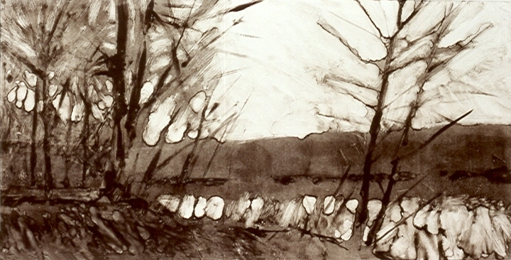 MONOTYPES River Twilight
