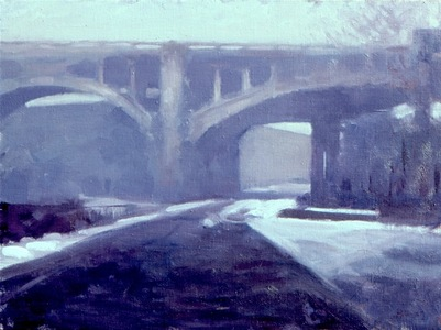 Williams Viaduct, Winter