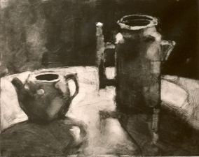 Coffee Pot & Pitcher