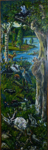 Fred Adell - Wildlife Artist Wildlife of Upstate NY Mural