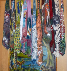 Fred Adell - Wildlife Artist Ties