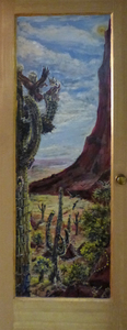 Fred Adell - Wildlife Artist Wildlife of Arizona Mural