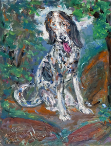 Fred Adell - Wildlife Artist Dogs - Domesticated Acrylic on canvas panel