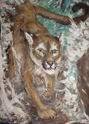 Fred Adell - Wildlife Artist Cats (wild)