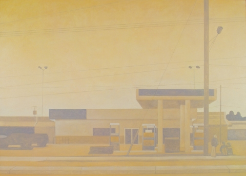 FRANK WEBSTER Sprawl Oil on Canvas