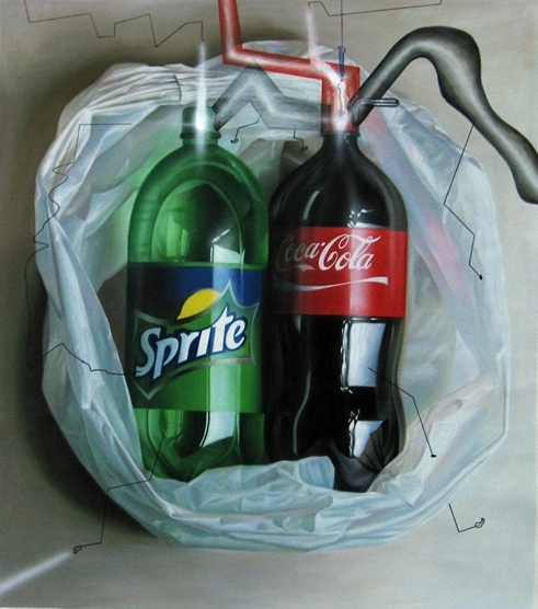 Digital Files of Artists ip pang = coca cola = oil on canvas