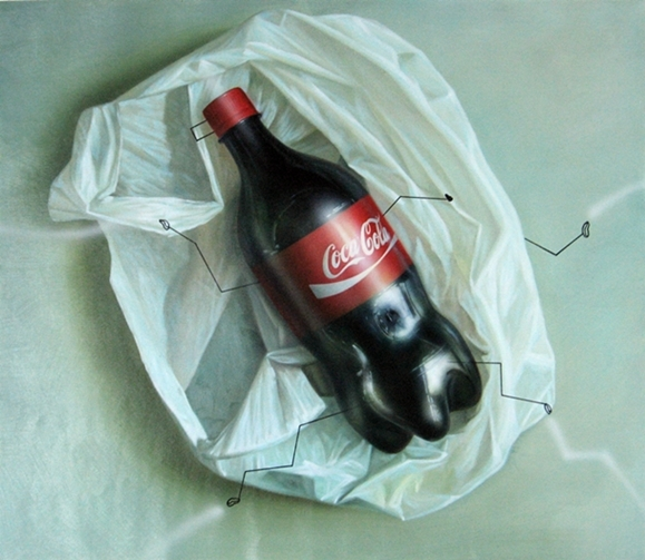 Digital Files of Artists ip pang = classic capitalism : coca cola series = oil on canvas = oil on canvas