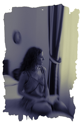 Digital Files of Artists Ekaterina Bykhovskaya, Martina near a Window, 12x8, ink jet print, 2011