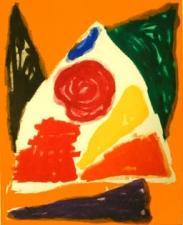Garvey Rita  Art & Antiques John Hoyland (1934-2011) Etching and aquatint, Edition of 50