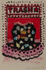 Garvey Rita  Art & Antiques Joe Brainard (1941-1995) Mixed media collage