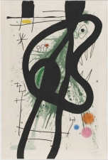 Garvey Rita  Art & Antiques Joan Miro (1893-1983) Etching, aquatint and carborundum printed in colours