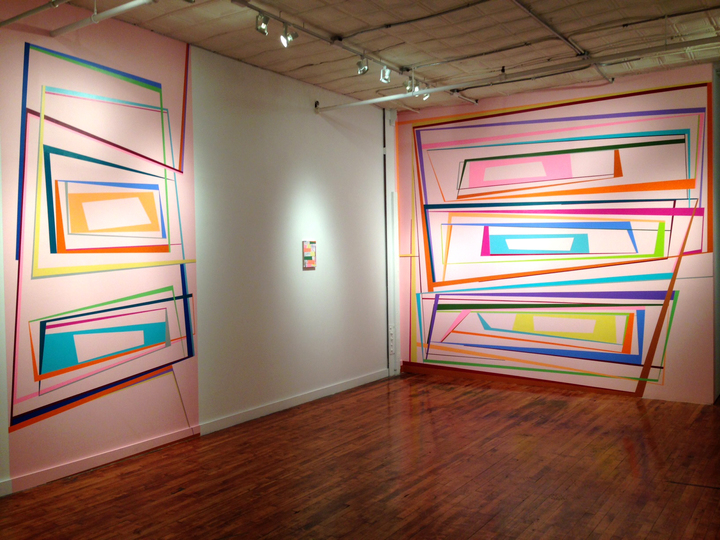 Gary Petersen WALL PAINTINGS